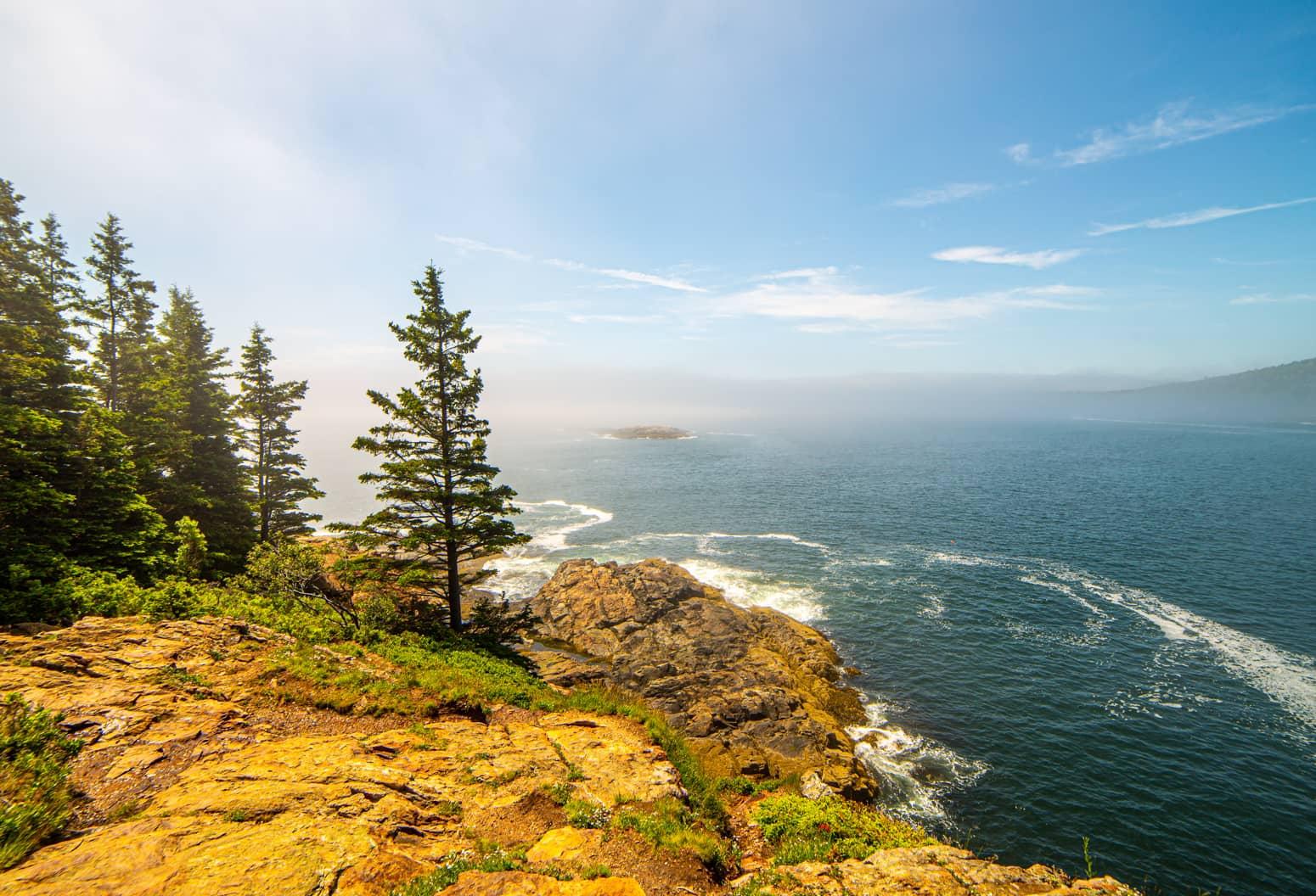 Coastline at Acadia National Park