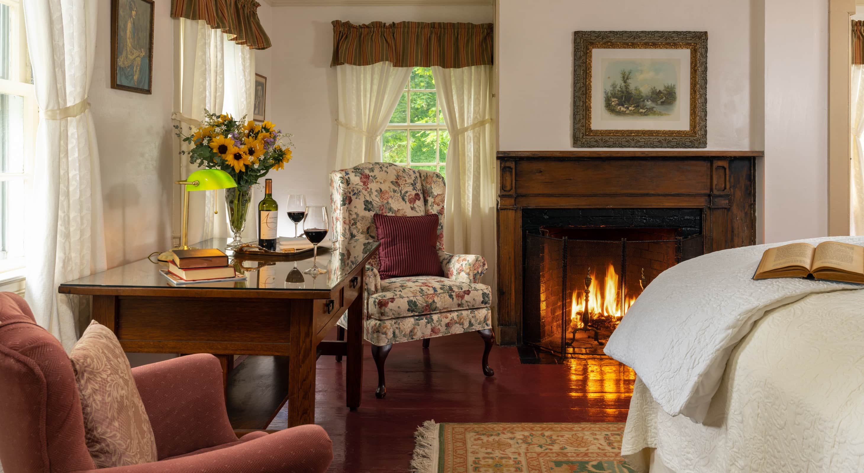 Room 5 at Historic Blue Hill Inn in Maine