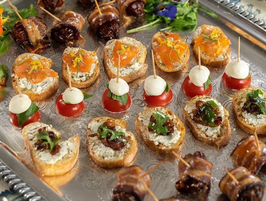 A Variety of Appetizers